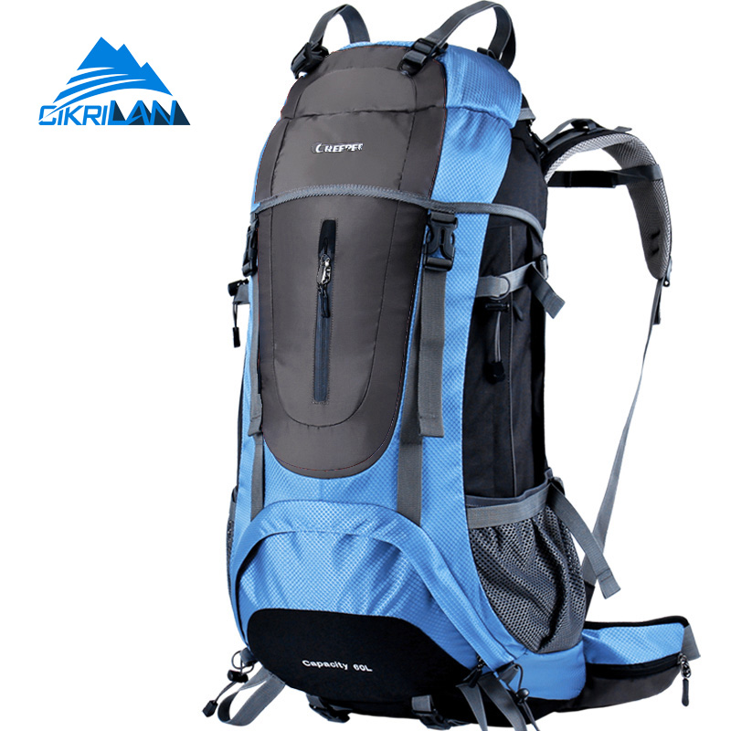 Hot Sale New Arrive 60L Outdoor Professional Climbing Backpack Breathable Rucksack Hiking Bag Water Resistant Camping Mochilas косметичка ipad