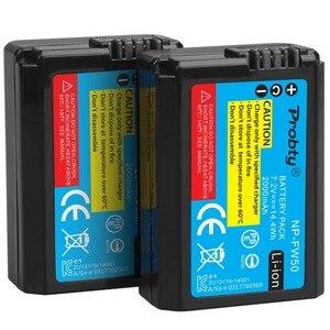 Image 4 - لسوني NP FW50 NP FW50 كاميرا بطارية + LCD USB المزدوج شاحن أجهزة سوني ألفا a6500 a6300 a6000 a5000 a3000 NEX 3 a7R a7S NEX 7