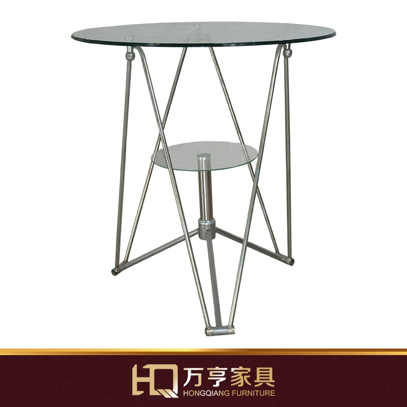 Big Glass Coffee Tables: Large Glass Table Negotiating Conference Dining Round
