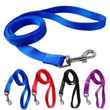 120cm Long High Quality Nylon Dog Pet Leash Lead for Daily Walking 1.0cm,1.5cm,2.0cm,2.5cm Width 4 Colors