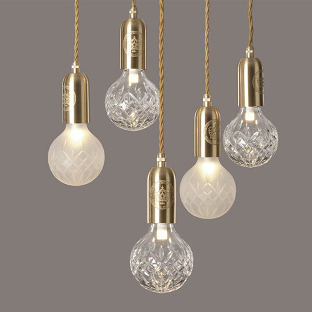 new crystal led chandelier suspension pendant from lee broom