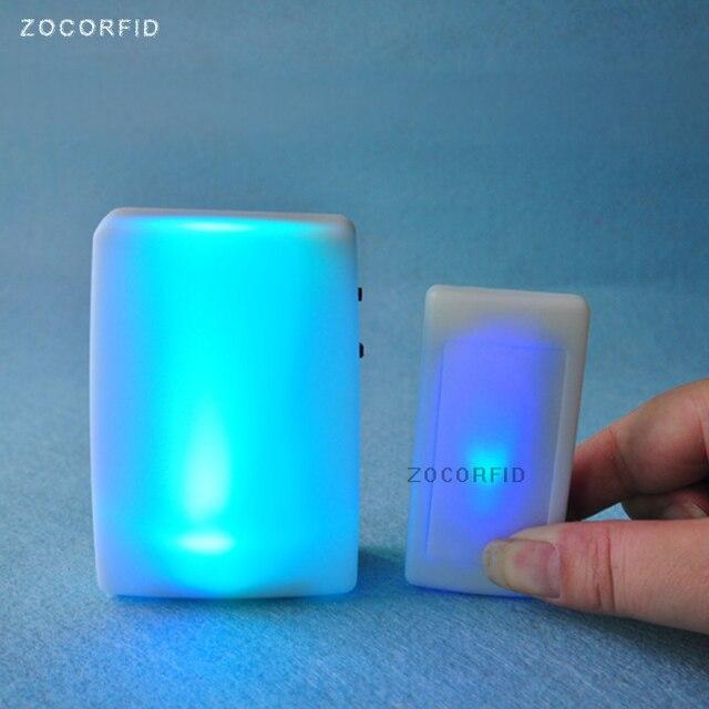 7 kinds color flash light Wireless DoorBell dry battery EU plug ...