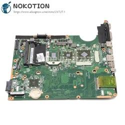 NOKOTION 509450-001 para la placa base del ordenador portátil HP DV6 DV6-1000 DAUT1AMB6E0 DAUT1AMB6D0 hd4650 cpu gratis probada