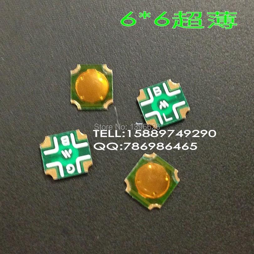 50pcs Tact Switch SMT SMD Tactile membrane switch PUSH Button SPST-NO 6mmx6.5mmx0.5mm SOP-114HST  [vk] 1241 3257 switch push spst no 100ma 42v switch
