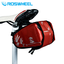 Roswheel Waterproof Saddle Bag Cycling Mountain Road Bike Bag Rear Seat The Rear Part Of The