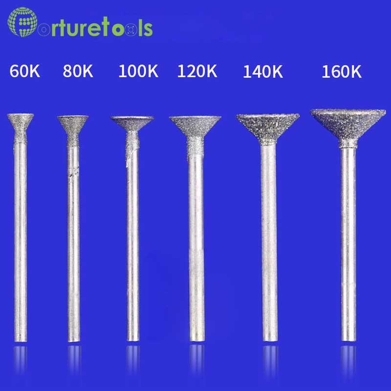 50 tk teemandiga kinnitatavad dremeli pöörlevad tööriistale - Abrasiivtööriistad - Foto 4