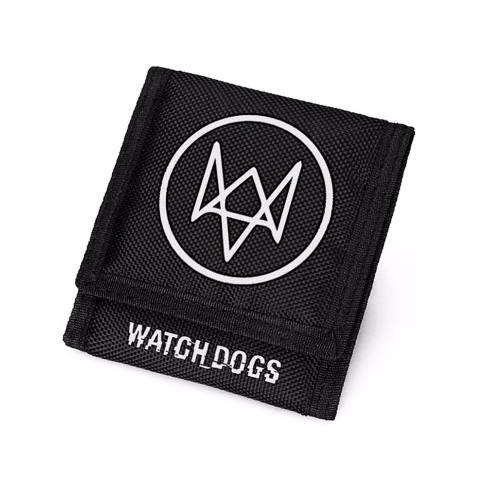 Watch Dogs Wallet Short Velcro Trifold Men Wallets watch dogs [ps3 ]