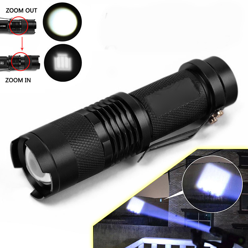 Mini 2000LM Waterproof LED Flashlight Torch 3 Modes