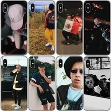 Bad Bunny Maluma Ozuna POP Hip Hop Rapper Soft TPU transparent silicone Phone Case Cover For iPhone X 10 5 5S SE 6 6S 7 8 Plus maluma roma