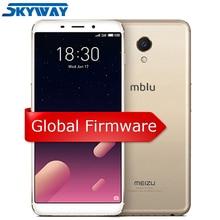Orijinal Meizu M6s S6 4G LTE Küresel Firmware 3 GB 32 GB cep telefonu Exynos 7872 Hexa Çekirdek 5.7
