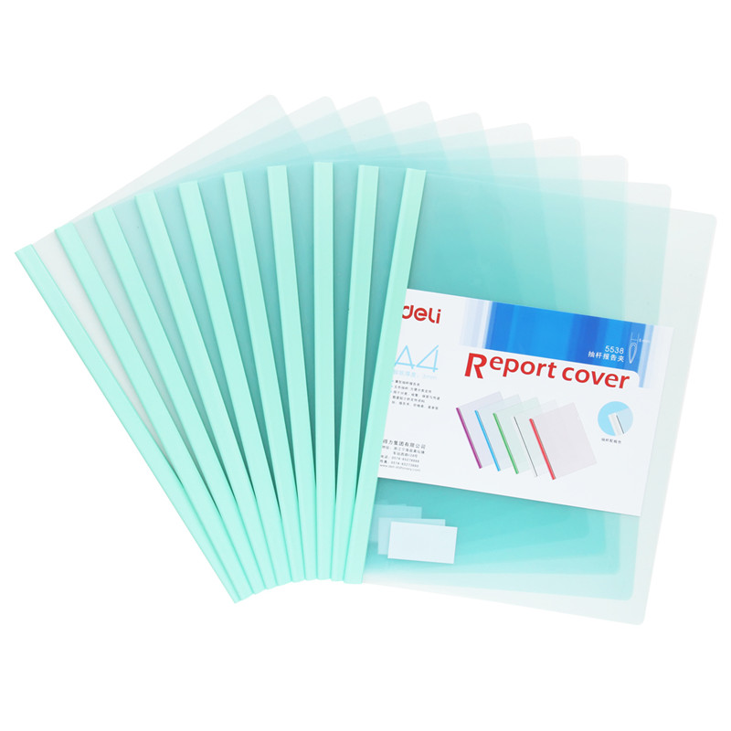 10  Pcs/Lot Plastic Transparent A4 File Folder For School Stationery & Office Supply