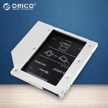 L95SS ORICO Espacio CD-ROM SATA a SATA 2 unidad de Disco Duro 2.5 DISCO DURO Interno Caja Caddy para Ordenadores Portátiles-Plata