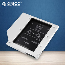 ORICO L95SS CD-ROM Space SATA to SATA 2 Hard Disk Drive 2.5 Internal HDD Caddy Enclosure for Laptops-Silver