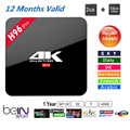 New H96 Pro TV BOX S912 Android 6.0 HD Smart tv +1 Year Arabic French UK portugal Italy iptv europe server 1000+ Channels Canal+