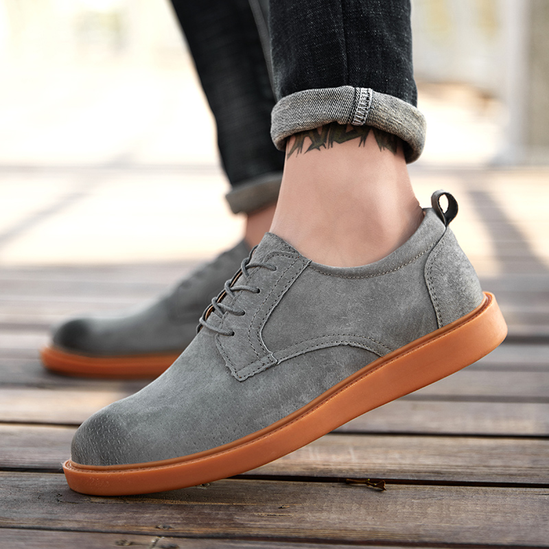 suede Leather Casual Shoes Men Loafers oxfords Men Shoes Breathable Outdoor Shoes lace up oxfords Winter Outdoor Men Shoes k4suede Leather Casual Shoes Men Loafers oxfords Men Shoes Breathable Outdoor Shoes lace up oxfords Winter Outdoor Men Shoes k4