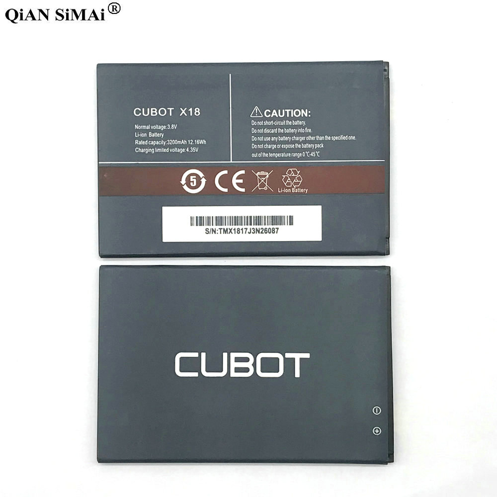New High Quality 3200mAh <font><b>battery</b></font> For <font><b>CUBOT</b></font> <font><b>X18</b></font> phone + Tracking Number image