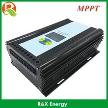 MPPT 600w wind/solar hybrid controller for 600w max wind generator and 300w max solar panel 12V/24V auto distinguish