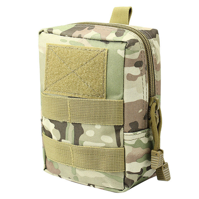 Outdoor Tactical Molle EDC Pouch Utility Gadget Belt Waist Bag 1000D Military Equipment Portable Waterproof Camping Hiking Bags
