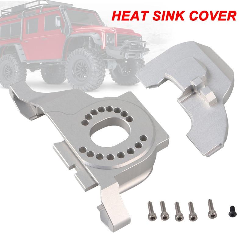1 Pc Aluminium Legierung Motor Montieren Kühlkörper Für 1/10 Rc Crawler Modell Trx-4 Bm88
