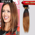 Summer Hot Sale Ombre Short Hair 7A Brazilian Virgin Hair Ombre Straight  Human Hair Straight Rosa ishow 1pc/Lot  Middle Hair Y