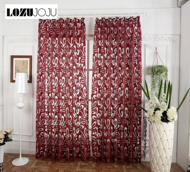 lozujoju moderne mode gordijn panel decoratieve gordijnen jacquard grijze gordijnen gordijn voor slaapkamer