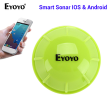Eyoyo E1 Portable Fish Finder Bluetooth Wireless Echo Sounder Sonar Sensor Depth Fishfinder for Lake Sea Fishing IOS & Android цена