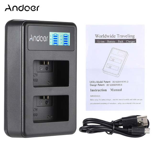 andoer np fw50 rechargeable led display li ion battery charger 2 rh aliexpress com sony nimh battery charger instructions sony aa battery charger manual