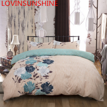 LOVINSUNSHINE Quilt Cover Set King Size Comforter Bedding Sets Double Flower Duvet Cover AB08#