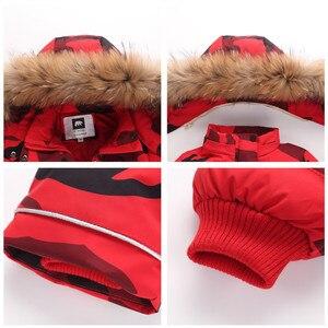 Image 3 - ออร์แกนิกเด็กฤดูหนาวเสื้อผ้าอบอุ่นOuterwear & Coatsเป็ดกันน้ำสวมOuterwearฤดูหนาวแจ็คเก็ตเด็กเสื้อ