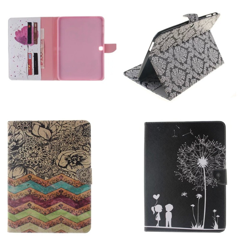 TX-DX For Samsung Galaxy Tab 4 10.1 T530 Folio Cute PU Leather Case Cover for Samsung Tab 4 SM-T530 T531 T535 10.1 Inch Tablet pu leather tablet case cover for samsung galaxy tab 4 10 1 sm t531 t530 t531 t535 luxury stand case protective shell 10 1 inch