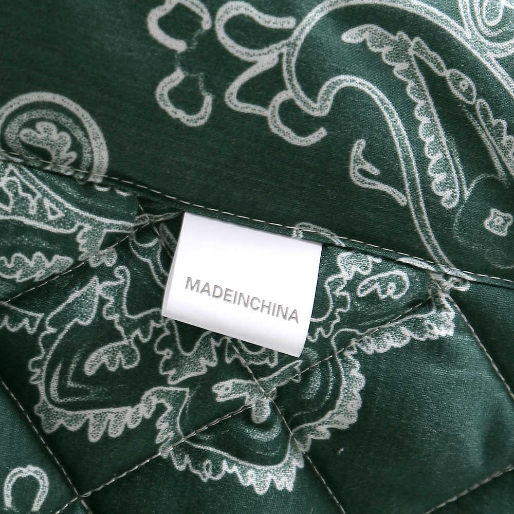 100% Microfiber Summer Thin Comforter 3D Printed White Partten Bedspread Green Luxury Quilt 3 Pieces Summer Family Bed Linen Set