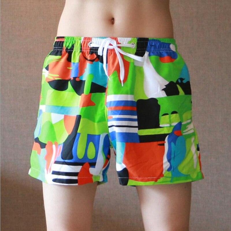Neuen Männer Boxer Shorts Strand Shorts Komfortable Schnell Trocknend Shorts Boardshorts