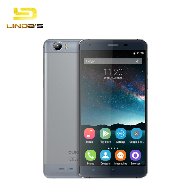 Original OUKITEL K6000 4G Android 5.1 Smartphone 5.5 inch 2GB 16GB 8.0MP MTK6735 6000mAh Quad Core OTG Capacitive Cellphone