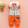 New 2017 Toddler Boys Clothing Set Spring Autumn Children Clothing Set baby Spiderman suit Kids Boys Clothes Sets