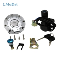 LMoDri Motorcycle Ignition Switch Gas Cap Fuel Tank Cover Seat Lock key Set For Yamaha YZF R1 R6 YZF R1 YZF R6 1992 2012 199