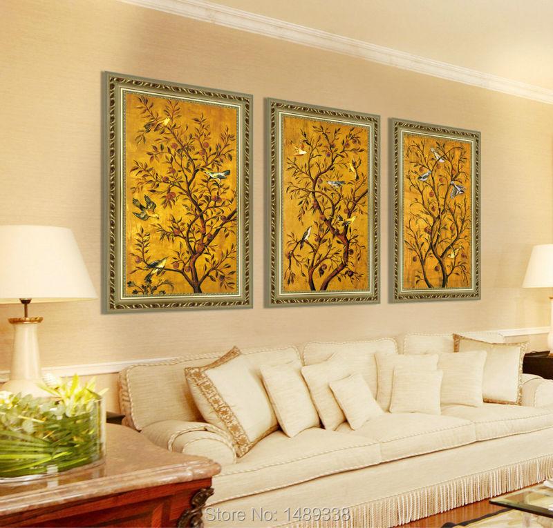 Aliexpress Buy 3 Panel Framed Art Wall Print Painting
