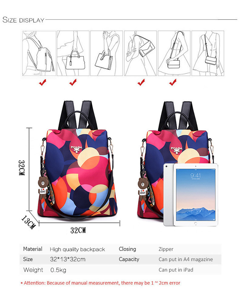 HTB1SRv4e8Cw3KVjSZR0q6zcUpXaq Fashion backpack women shoulder bag large capacity women backpack school bag for teenage girls light ladies travel backpack