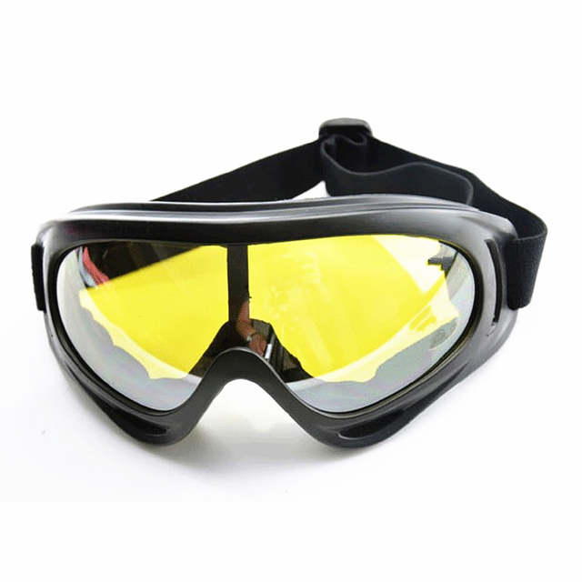 2e56d98774c Online Shop WOLFBIKE New Paintball Sport UV400 Protection For Hunting  Airsoft Skiing Glasses Snow Snowboarding Goggles Yellow Lenses