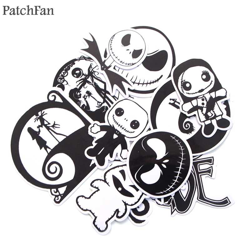 Patchfan 12 pcs Nightmare Before Christmas