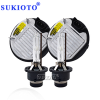 SUKIOTO 35 Вт Yeaky HID ксенона 5500 К D2S D2R фар автомобиля ксеноновая лампа D4S 4500 К D4R 6500 К D2S D4S HID балласт комплект 85967-45010
