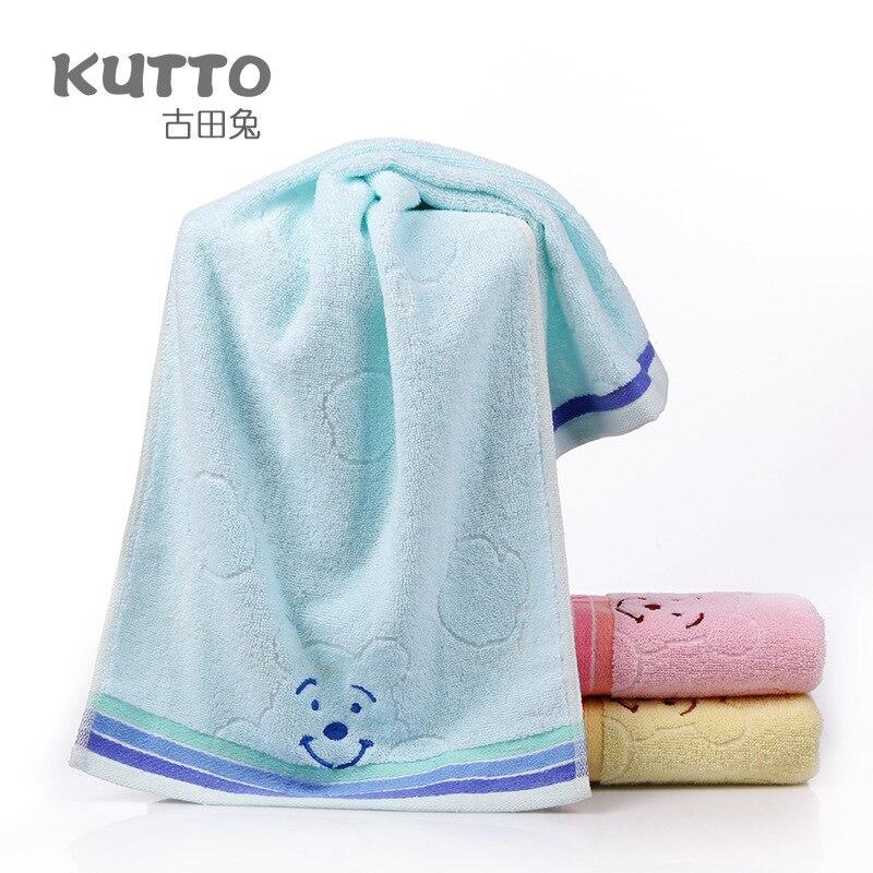 New Baby Face Towel Microfiber Drying Bath Towel Cartoon Children Towels Kid Washcloth 34x75cm