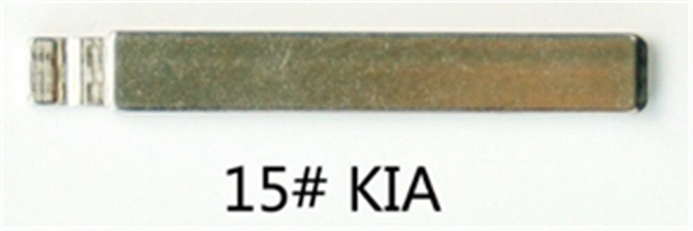 10 unids/lote KEYDIY controles universales clave Flip hoja 15 # ¡HU134TE para Kia Venna
