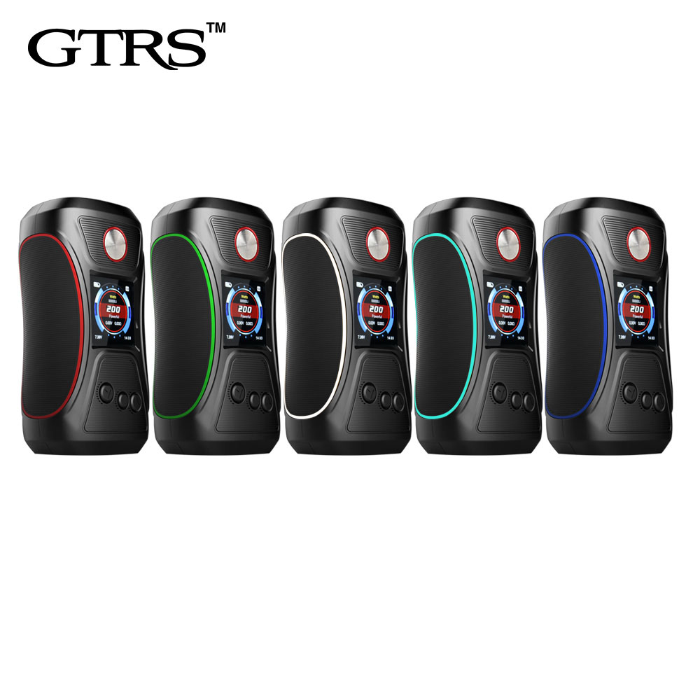 Electronic Cigarette Original GTRS VBOY 200 TC Box MOD with SX500 High performance Chipset 1 3