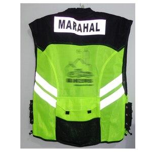 Image 3 - רכיבה שבט אופנוע אופנוע אופני מירוץ גבוהה גלוי רעיוני אזהרה מעיל, JK22 בגדי בטיחות רעיוני