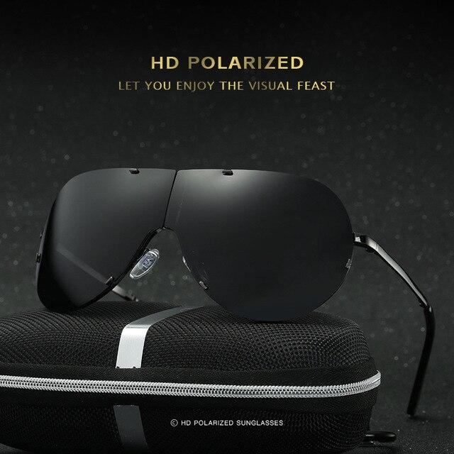 69ca311dd1f 2017 New men s polarized sunglasses folding section frameless frog eyewear  classic fishing mirror driving sun glasses 237