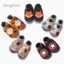 Мягкая Нескользящая детская обувь из натуральной кожи для новорожденных мальчиков и девочек; мокасины для малышей; детская обувь для детей 0-24 месяцев