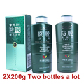 Frete grátis Zhangguang 101 Cabelo Prova Derramamento Shampoo 2X200g duas garrafas em um monte de terapia da medicina Chinesa anti perda de cabelo