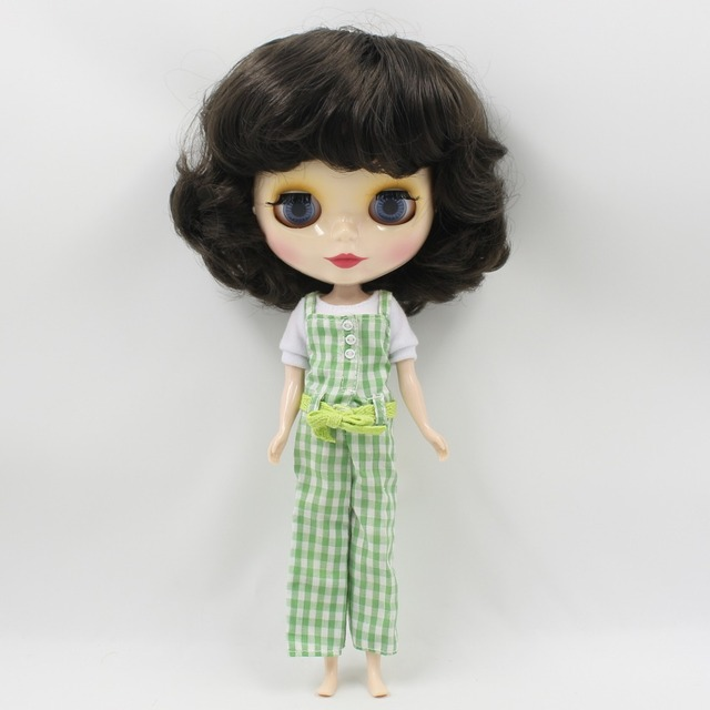 ICY Neo Blythe Doll Black Hair Regular Body