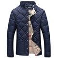 2016 Homens Jaqueta de Inverno Jaqueta de Algodão Quente Casaco Homens Casuais Homens Jaqueta Com Capuz thicking Parka sólida Plus Size 5XL 6XL casacos