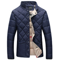 2016 Winter Jacket Men Warm Cotton Jacket Coat Men Casual Solid Hooded Jacket Men thicking Parka Plus Size 5XL 6XL Coats